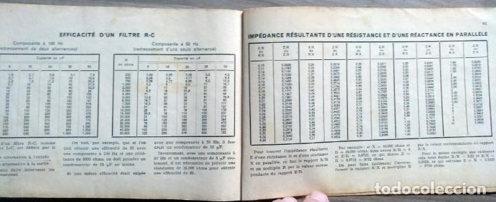 Radios antiguas: libro, electronica, formulalrio, formulaire radio, paris, esta en frances - Foto 8 - 241482255