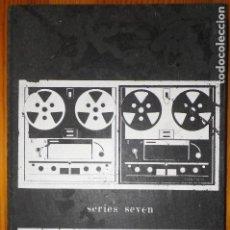 Radios antiguas: ANTIGUO MANUAL DE SERVICIO TÉCNICO Y OPERACIÓN PARA MAGNETOFÓN FERROGRAPH. Lote 187121361