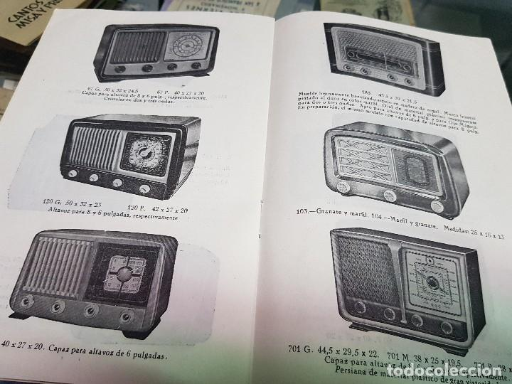 Radios antiguas: ANTIGUO CATALOGO TARIFA DE PRECIOS MUEBLES RADIO ELIA MADRID - Foto 4 - 188403347