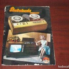 Radios antiguas: ELECTROTECNIA POPULAR Nº 63 - VER DETALLES. Lote 189107376