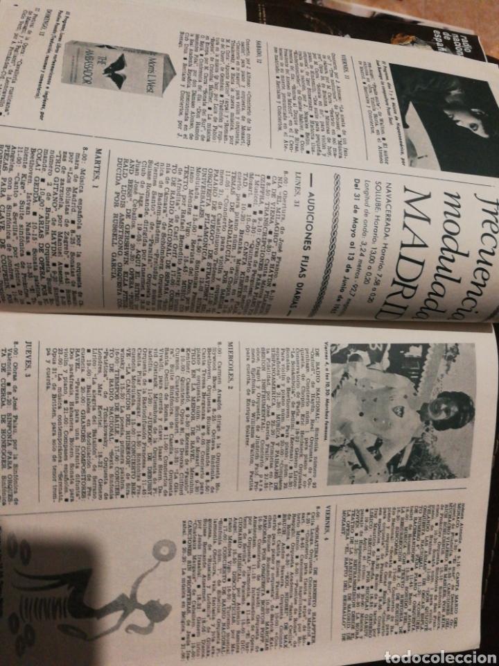 Radios antiguas: BOLETÍN OFICIAL RADIO NACIONAL ESPAÑA 1965, n°39 - Foto 5 - 189129006