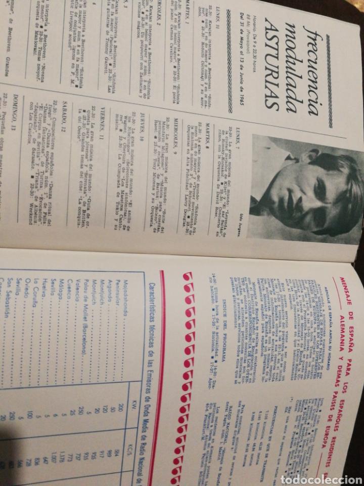 Radios antiguas: BOLETÍN OFICIAL RADIO NACIONAL ESPAÑA 1965, n°39 - Foto 8 - 189129006