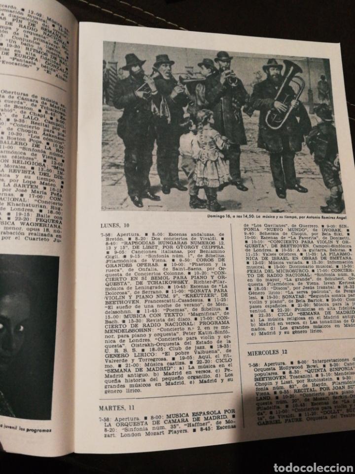 Radios antiguas: BOLETÍN OFICIAL RADIO NACIONAL ESPAÑA 1965, N°37 - Foto 2 - 189129112