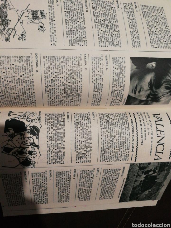 Radios antiguas: BOLETÍN OFICIAL RADIO NACIONAL ESPAÑA 1965, N°37 - Foto 4 - 189129112