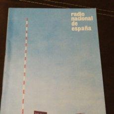 Radios antiguas: BOLETÍN OFICIAL RADIO NACIONAL ESPAÑA 1965, N°37. Lote 189129112
