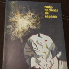 Radios antiguas: BOLETÍN OFICIAL RADIO NACIONAL ESPAÑA 1965, N°34. Lote 189129232