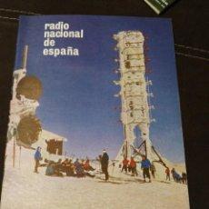 Radios antiguas: BOLETÍN OFICIAL RADIO NACIONAL ESPAÑA 1964, N°25. Lote 189129501