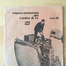 Radios antiguas: REPARACIONES DE RADIO & TV- AFHA. Lote 191033446