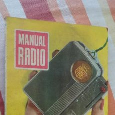 Radios antiguas: DARKNESS.MANUAL RADIO.MILIAMPERIMETROS Y VOLTIMETROS.Nº 28. BRUGUERA 1955. Lote 192927837