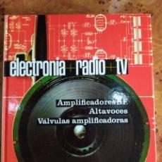 Radios antiguas: LOTE ENCICLOPEDIA ELECTRONIA RADIO TV. Lote 193209027
