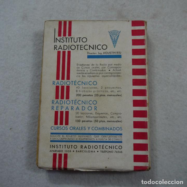 Radios antiguas: GUÍA PRÁCTICA DE RADIO - ING. AGUSTÍN RIU - 1936 - Foto 3 - 193762735