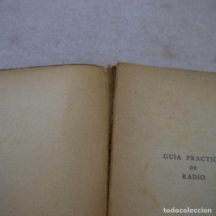 Radios antiguas: GUÍA PRÁCTICA DE RADIO - ING. AGUSTÍN RIU - 1936 - Foto 4 - 193762735