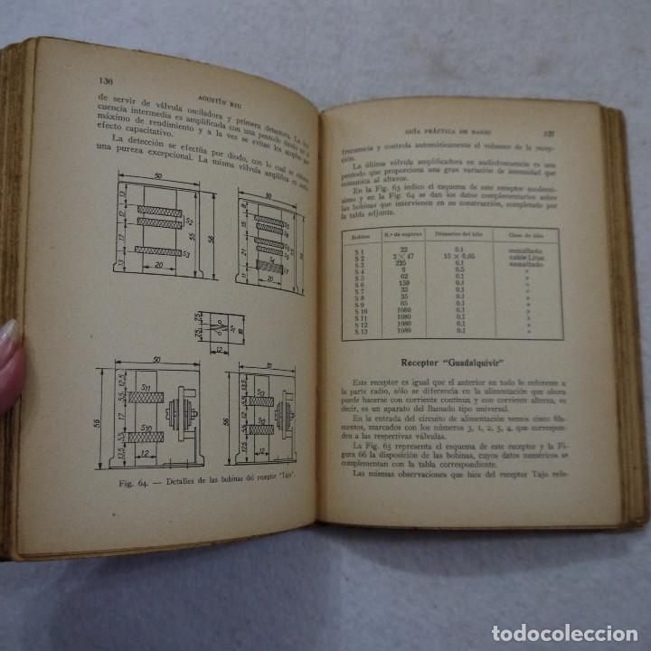 Radios antiguas: GUÍA PRÁCTICA DE RADIO - ING. AGUSTÍN RIU - 1936 - Foto 8 - 193762735