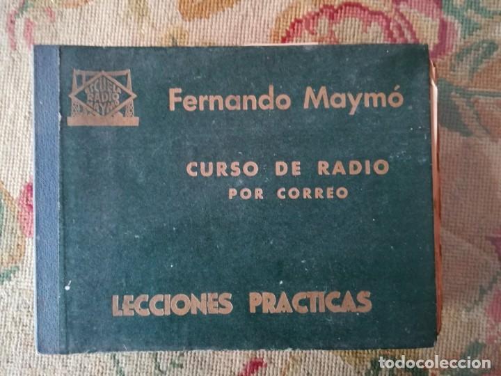 Radios antiguas: CURSO DE RADIO POR CORREO MAYMÓ COMPLETO - Foto 3 - 193811926