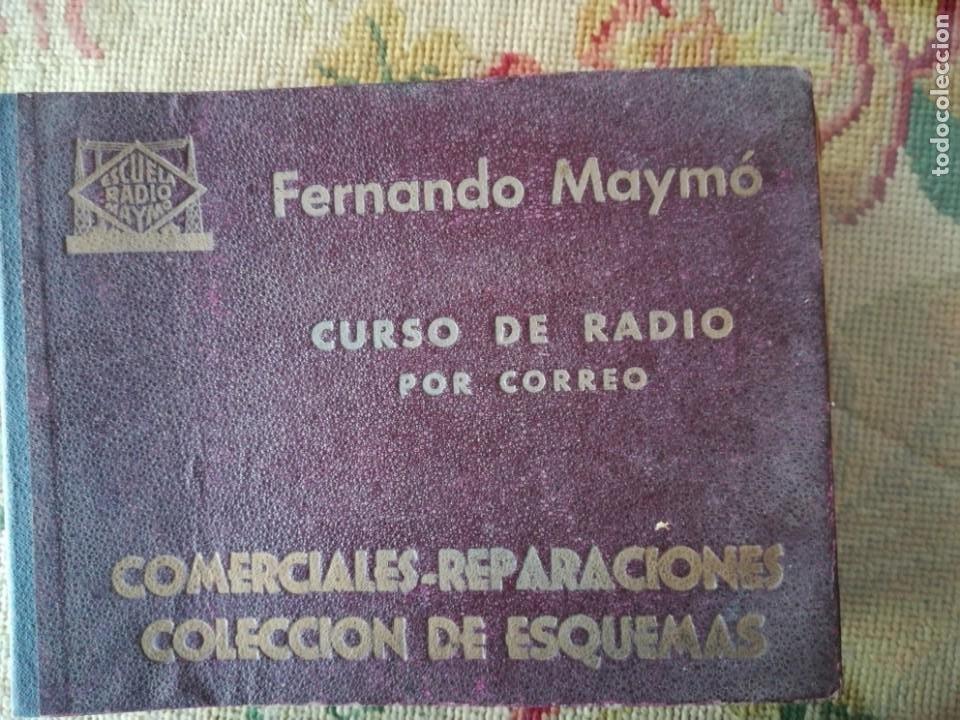 Radios antiguas: CURSO DE RADIO POR CORREO MAYMÓ COMPLETO - Foto 4 - 193811926