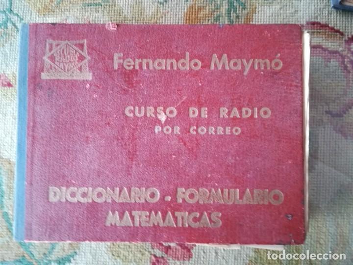 Radios antiguas: CURSO DE RADIO POR CORREO MAYMÓ COMPLETO - Foto 5 - 193811926