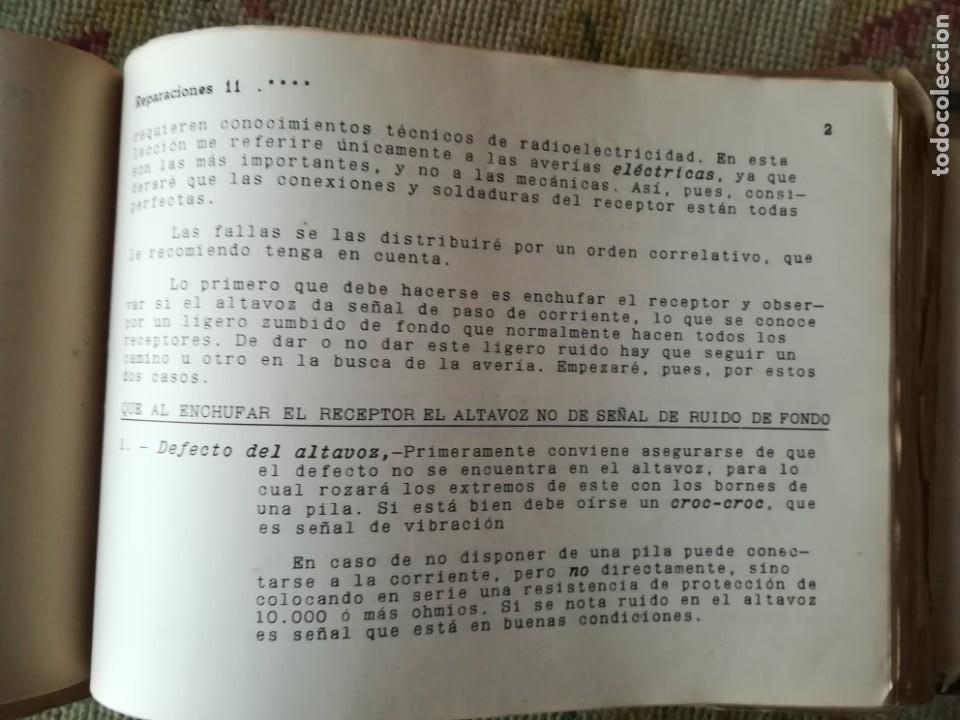 Radios antiguas: CURSO DE RADIO POR CORREO MAYMÓ COMPLETO - Foto 8 - 193811926