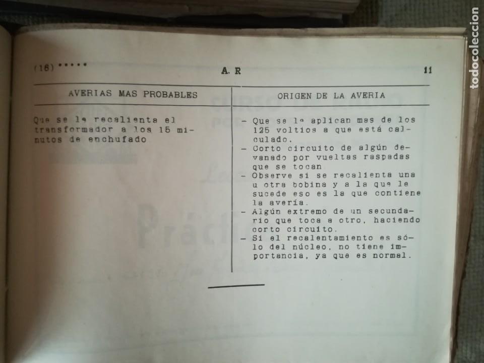 Radios antiguas: CURSO DE RADIO POR CORREO MAYMÓ COMPLETO - Foto 11 - 193811926