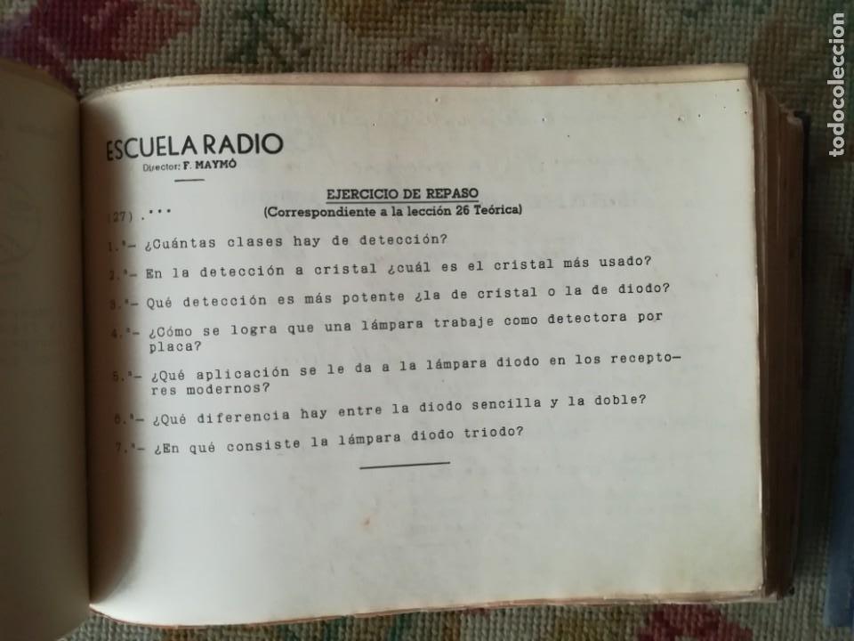Radios antiguas: CURSO DE RADIO POR CORREO MAYMÓ COMPLETO - Foto 12 - 193811926