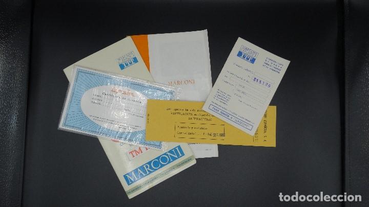 MANUAL DE SERVICIO TECNICO - MARCONI - TELEVISOR SONOMAT MODELO TM 1032 - 1969 (Radios, Gramófonos, Grabadoras y Otros - Catálogos, Publicidad y Libros de Radio)
