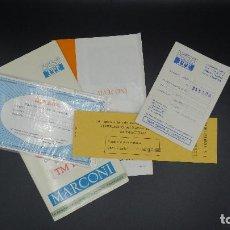 Radios antiguas: MANUAL DE SERVICIO TECNICO - MARCONI - TELEVISOR SONOMAT MODELO TM 1032 - 1969. Lote 193867138