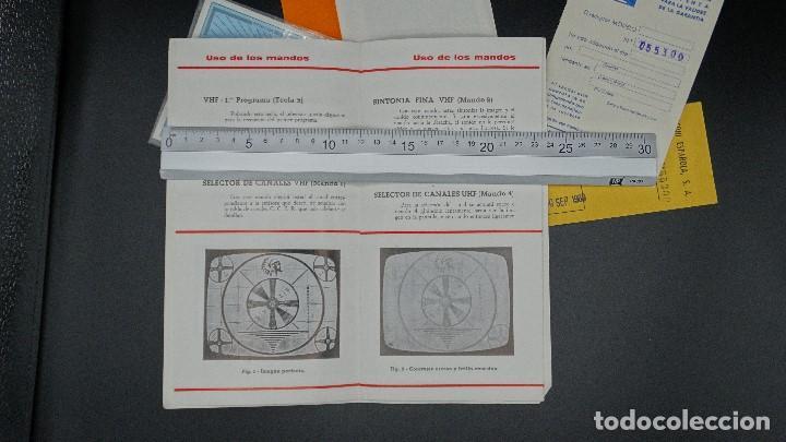 Radios antiguas: MANUAL DE SERVICIO TECNICO - MARCONI - TELEVISOR SONOMAT MODELO TM 1032 - 1969 - Foto 7 - 193867138