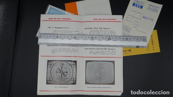 Radios antiguas: MANUAL DE SERVICIO TECNICO - MARCONI - TELEVISOR SONOMAT MODELO TM 1032 - 1969 - Foto 8 - 193867138