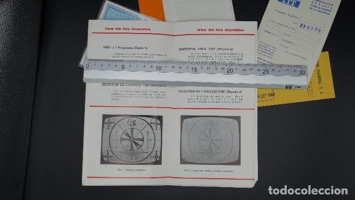 Radios antiguas: MANUAL DE SERVICIO TECNICO - MARCONI - TELEVISOR SONOMAT MODELO TM 1032 - 1969 - Foto 9 - 193867138