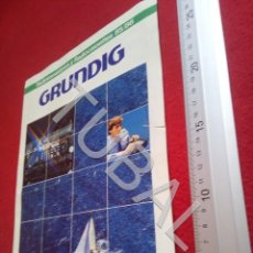 Radios antiguas: TUBAL GRUNDIG CATALOGO 1985 86 U6. Lote 194609700