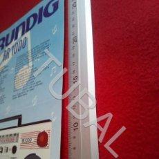 Radios antiguas: TUBAL GRUNDIG RR 1000 U6. Lote 194609770