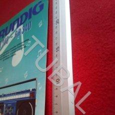 Radios antiguas: TUBAL GRUNDIG RR 240 RR 340 U6. Lote 194609965