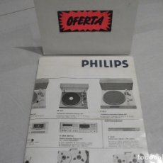 Radios antiguas: CATALOGO VINTAG GENERAL HIFI **PHILIPS**. Lote 195110993