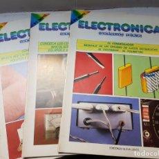 Radios antiguas: ELECTRÓNICA ENCICLOPEDIA PRÁCTICA NÚMERO 1-2 Y 4. Lote 196353305