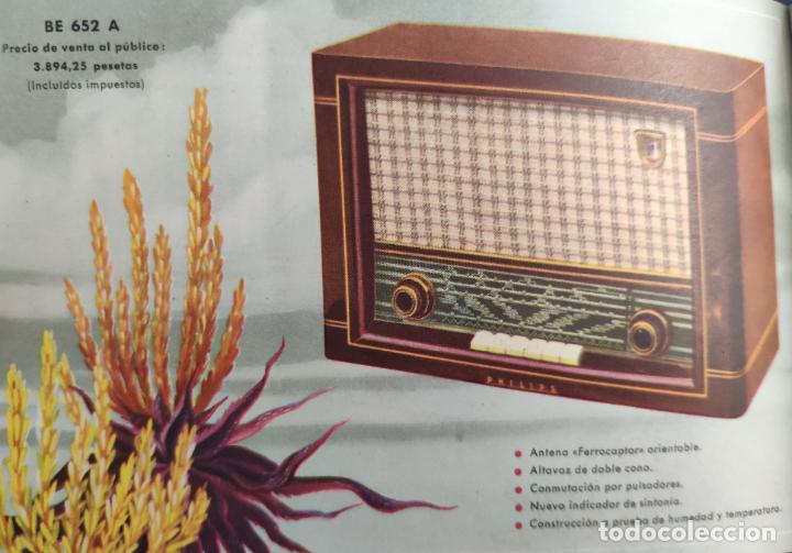 Radios antiguas: CATÁLOGO PHILIPS RADIO 1956 LA ERA NOVOFONIC - EXCELENTE ESTADO - Foto 12 - 54354433