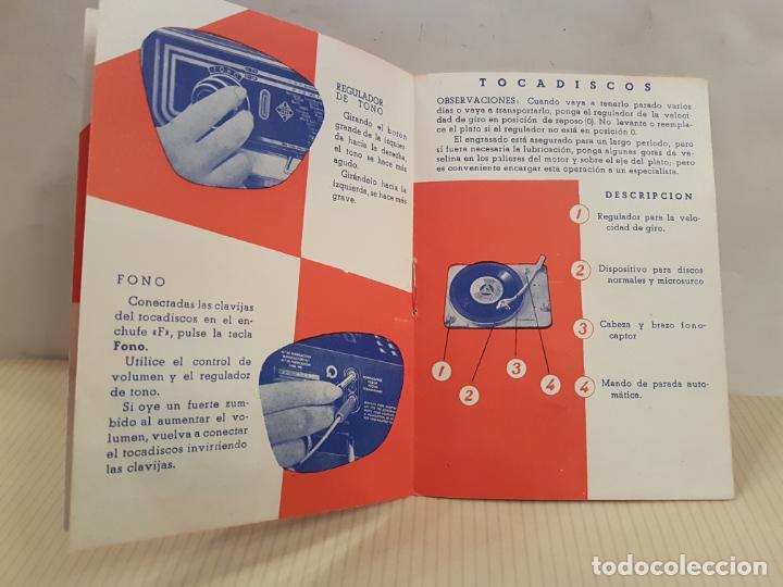 Radios antiguas: antiguo catalogo instrucciones de manejo fono-radio telefunken buenisimo estado - Foto 4 - 197710500