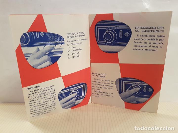 Radios antiguas: antiguo catalogo instrucciones de manejo fono-radio telefunken buenisimo estado - Foto 5 - 197710500