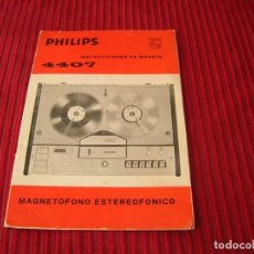 Radios antiguas: CATÁLOGO DE MAGNETOFONO ESTEREOFÓNICO PHILIPS . Lote 198626218