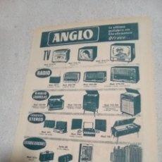 Radios antiguas: RECORTE PERIÓDICO PUBLICIDAD AÑOS 60. Lote 198940617
