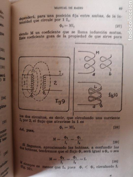Radios antiguas: Manual de Radio 1942 Joaquín Gómez Baquero - Foto 4 - 199858796