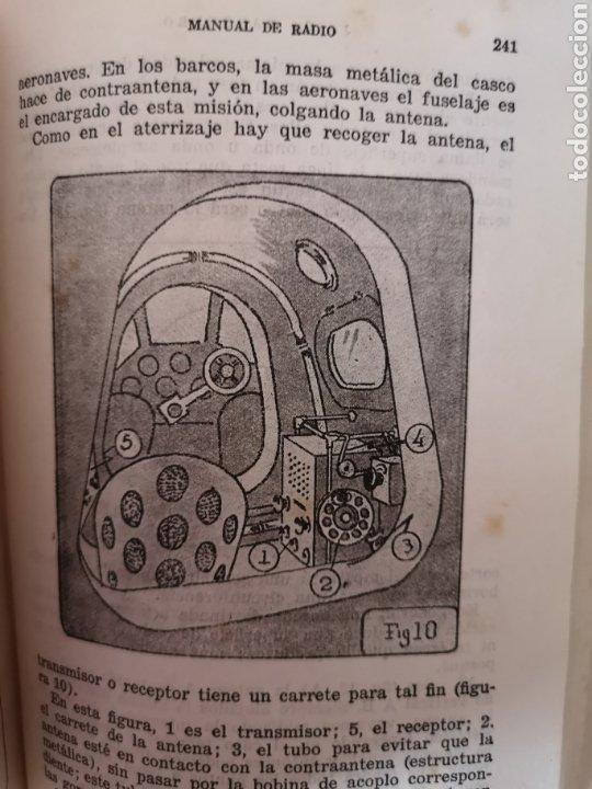 Radios antiguas: Manual de Radio 1942 Joaquín Gómez Baquero - Foto 7 - 199858796