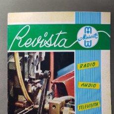 Radios antiguas: REVISTA MINIWATT .MARZO 1965. Lote 199906193