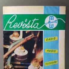 Radios antiguas: REVISTA MINIWATT .MAYO 1965. Lote 199906427