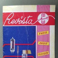Radios antiguas: REVISTA MINIWATT .SEPTIEMBRE 1965. Lote 199906795