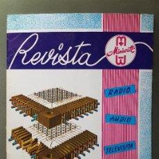 Radios antiguas: REVISTA MINIWATT .NOVIEMBRE 1965. Lote 199906935