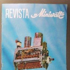 Radios antiguas: REVISTA MINIWATT . MARZO 1966. Lote 199907496
