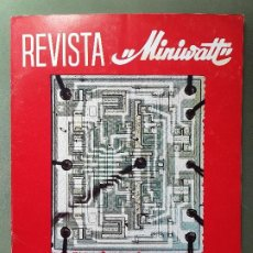 Radios antiguas: REVISTA MINIWATT . JULIO 1966. Lote 199907735