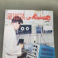 Radios antiguas: REVISTA MINIWATT . ENERO 1967. Lote 199922753