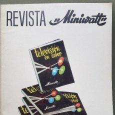 Radios antiguas: REVISTA MINIWATT . ENER0 1968. Lote 199923548