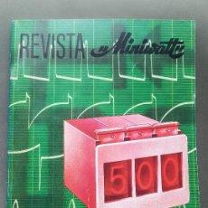 Radios antiguas: REVISTA MINIWATT . NOVIEMBRE 1968. Lote 199923958