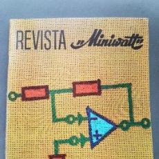 Radios antiguas: REVISTA MINIWATT . MARZO 1969. Lote 199924276